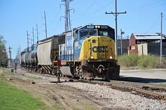 Spirit Of Mulberry (Matt_Schimmel) Tags: csx sd70m emd yn2 decatur illinois transfer freight train special local locomotive classic