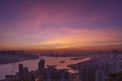 Devil's Peak, Hong Kong (mikemikecat) Tags: devils peak hong kong mikemikecat scenery sunset cityscapes 香港 九龍灣 日落 sony a7r 天空 夕陽 夕空 夕暮れ 魔鬼山 天際線 黃昏 twilight nightscape nightview night 夜景 magicmoment sel2470z fe2470mm yau tong