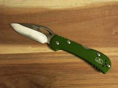 Buck Mini Spitfire (CapCase) Tags: knife cutlery blade lockback folder pocketknife buck minispitfire