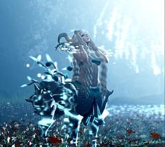 """Morning mist"" (ƛƦƳƛ ƊƦƛƓƠƝƁƠƦƝ (The Wandering Herba) Tags: firestorm secondlife bento centaur fain horns cold snow fantasy plastik ayashi birdy alchemy gacha halo glitter catwa secondlife:region=thunderdragonisland secondlife:parcel=hobbitonhttpswwwflickrcomgroupsthunderdragon secondlife:x=214 secondlife:y=114 secondlife:z=25"