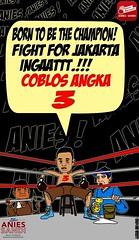 Paslon 3 (oggygee) Tags: anies baswedan sandiaga uno prabowo gerindra political humor cartoon joke boxing indonesia election governor