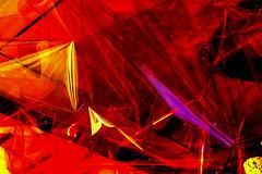 Reflejos (camus agp) Tags: rojos reflejos papel celofan abstracto