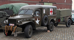 Dodge Field Ambulance (Schwanzus_Longus) Tags: schuppen 1 bremen eins german germany us usa america american old classic vintage van box world war army military dodge wc54 field ambulance