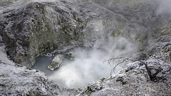 Desolation (- Jan van Dijk) Tags: waiotapu bayofplenty newzealand nz desolate desolation nature natuur volcanic thermal sulphur smelly zwavel geothermic