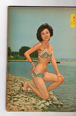 "Seoul Korea vintage Korean pinup circa 1979 from Sunday Seoul - ""That 70s Look"" (moreska) Tags: seoul korea vintage korean pinup bikini model posed beauty lookism glamour 1979 retro seventies publications sunday magazines collectibles pop culture sea hangul fonts graphics oldschool rok asia"