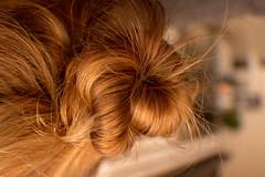 The Knot (Jenny Karakasheva) Tags: hair smileonsaturday knot blond messyhair messy