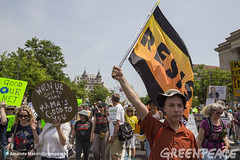 People's Climate March DC 2017 (Greenpeace USA 2016) Tags: resist greenpeace activists capitol indigenousrights fossilfuels environment democracy redline coalition cleanenergy renewable climatechange globalwarming waterrising climatejustice environmentaljustice washington districtofcolumbia unitedstates usa