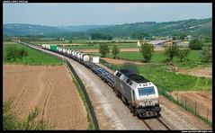 TECO en Manán (javier-lopez) Tags: ffcc railway train tren trenes adif renfe mercancías teco contenedor contenedores 333 3333 prima sgs sgss tcs euconsa cm carburosmetálicos madridabroñigal leónclasificación acoruñasandiego sarria manán 29042011
