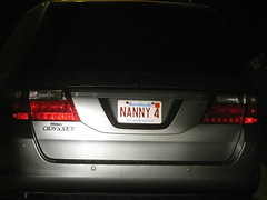 NANNY 4 (Mark Sardella) Tags: cars car tag tags licenseplate vanityplate vehicles license vehicle plates numberplate motorvehicles personalisedplate personalizedplate