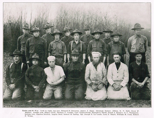 Cooks and KP Men from 137th Spruce Squadron, First World War