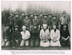 Cooks and KP Men from 137th Spruce Squadron, First World War (RV Bob) Tags: camp food oregon soldier book wwi cook gimp souvenir worldwari worldwarone ww1 spruce firstworldwar kp worldwar1 137 northportland memorybook 137th northportlandoregon monarchmills sprucesquadron sprucesoldier 137spruce 137thspruce