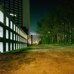 in between (nasone) Tags: longexposure film night analog mediumformat kodakportra400 diyc41 autaut rolleicord5a