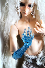Don't Judge Me (TerraNoir7) Tags: ice ball doll ns lord bjd resin transparent fairyland abjd joint ital feeple65