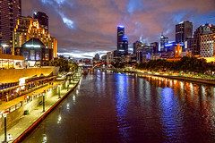 Melbourne River at night (JimBoots) Tags: