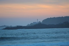 Tofino, BC, Light House (Freddyica) Tags: ocean lighthouse canada beach britishcolumbia tofino waters shores