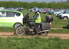 BMW R (Sam Tait) Tags: black car boot high bin motorbike r moto bmw vis touring bower