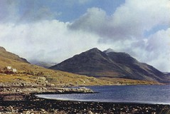 Inveralligin (Neil F King) Tags: scotland postcard westerross rossandcromarty jarthurdixon
