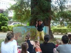 Contes dans le Jardin public Ferdinand Villard (Les Monts de Guéret) Tags: lune animation ville visite ete monts conte pleine gueret sortileges
