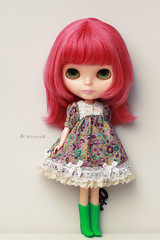 Blythe Dress by me (emmie j.) Tags: canon eos doll blythe neo fbl cwc primadollylondon