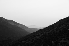 Misty Mountains (SHKR | ShakerMedia) Tags: trees mist holiday mountains nature water beautiful beauty clouds plane stars star paradise natural lakes mother palm morocco springs valley streams moroccon