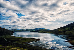 Vibrant (blueleven) Tags: sea sky skye green nature clouds photoshop landscape scotland highlands nikon loch isle hdr