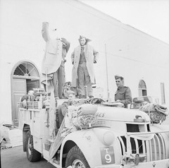 An LRDG Chevrolet 30cwt truck ready to leave Cairo, 25 May 1942.