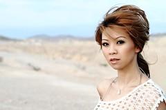 desert solitaire (Liz Lieu) Tags: desert lasvegas heatwave asianmodel lizlieu thepokerdiva propokerplayer
