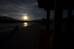 Silhouette at Sindhu Ghat, Leh, Ladakh, India (anindya55) Tags: india silhouette nikon sightseeing kashmir leh silhoutte indus ladakh sigma1020mm jammuandkashmir ultrawideangle sigma1020mmf456exdchsm sindhughat d5100 nikond5100