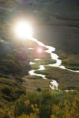 River gleam (snagbreac) Tags: sun reflection portugal river gleam plain