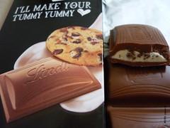 Lindt Hello, My Name Is... Cookies & Cream (zazou.ciocolata) Tags: cookie cream whippedcream biscuit cocoa milkchocolate lindt cookiescream creamfilling cocoabiscuit