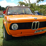 BMW 1602 at retro rides gathering 2013
