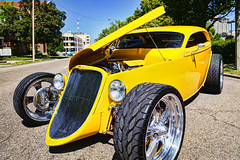 Yellow Hot Rod HDR