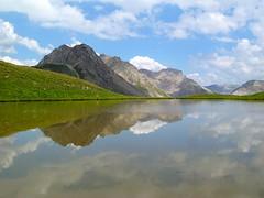 Reflets au Lac de Cogour (Gohan sj2) Tags: montagne lac reflets guillestre parcnaturelrgionalduqueyras lacdecogour