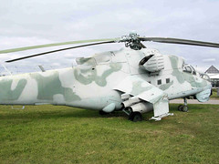 """Mi-24 Hind (3) • <a style=""""font-size:0.8em;"""" href=""""http://www.flickr.com/photos/81723459@N04/9964194995/"""" target=""""_blank"""">View on Flickr</a>"""