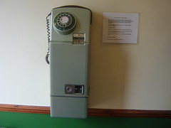 pay on answer coin box 1960s/70s (sunbeam31) Tags: bristol office coin call phone post box telephone queen payphone pay pips trunk british kiosk 1970s hm std exchange tone k6 answer gpo telecom 1959 telephones subscriber telecommunications dialling