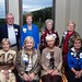 """<b>1963 #3</b><br/> Back Row: Donald Melchert, Ginger (Schindler) Bergerson, Sharon (Kuehl) Stade, Sandy (Bilden) Hoeg. Front Row: Lynne (Jordan) Enerson, Gini (Schendel) Hickman, Pauline (Johnson) Liesenfelt, Margaret (Berkland) Vidmar <a href=""""http://farm3.static.flickr.com/2866/10422445956_13cba5cc70_o.jpg"""" title=""""High res"""">∝</a>"""