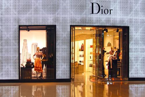Christian Dior The Shops at Crystals  Aria Las Vegas NV  - a