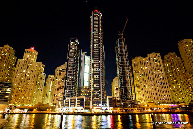 Glossy Water, At Dubai Marina, Dubai