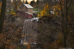 november colours at decew...(not HDR) (Rex Montalban Photography) Tags: longexposure autumn fall colours hss nothdr morningstarmill neutraldensityfilters rexmontalbanphotography slidersunday decewwaterfalls singleimageedited