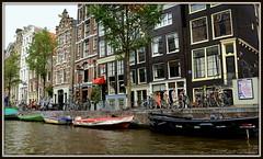 Herengracht - Houses, Boat, Canal (Renal Bhalakia) Tags: holland water netherlands amsterdam canal europe worldheritagesite waterway herengracht canalcruise amsterdamcanal unescoworldheritagelist nikond600 oldesthouseinamsterdam renalbhalakia nikon28300mmvr