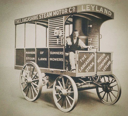 The Lancashire Steam Motor Company Truck 1897