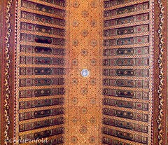 Traditional ceiling (chrispenfold) Tags: africa museum architecture traditional ceiling morocco marrakech marrakesh ornate
