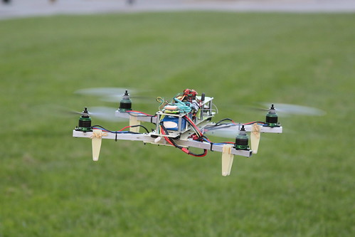 Testing Quadcopter in Warren Mall