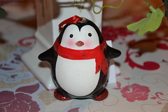 Pinguoin (MissLilieDolly) Tags: dcoration de nol christmas decoration suspension hanging guirlande garland boule ball personnage characters figurine figure sapin fir lumineuse tree bright light collection pinguoin pre santa claus missliliedolly miss lilie dolly aurelmistinguette