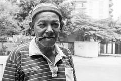 Jalan Surabaya, Jakarta (AMNewman) Tags: street portrait bw alex 35mm indonesia java asia fuji jakarta newman alexnewman x100s valleyninja