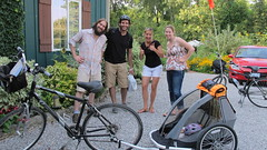 The perfect location for a bike getaway! A Niagara on the Lake B+B that is perfect for couples travelling together.