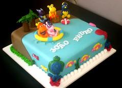 Bolo Backyardigans (www.donagenu.com.br) Tags: cake bolo doce backyardigans