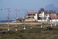 Barra (beckstei) Tags: praia beach rio de janeiro streetlamp feira pole electrical sao barra cristovao