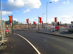 IMG_2730 (Richardio123) Tags: manchester airport construction tram rail metrolink m5000