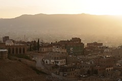 Sunrise of hope over Sana'a, Yemen.